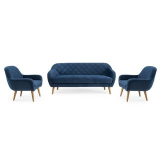 Isobel 3pc Seating Set in Cobalt Blue by RST Brands