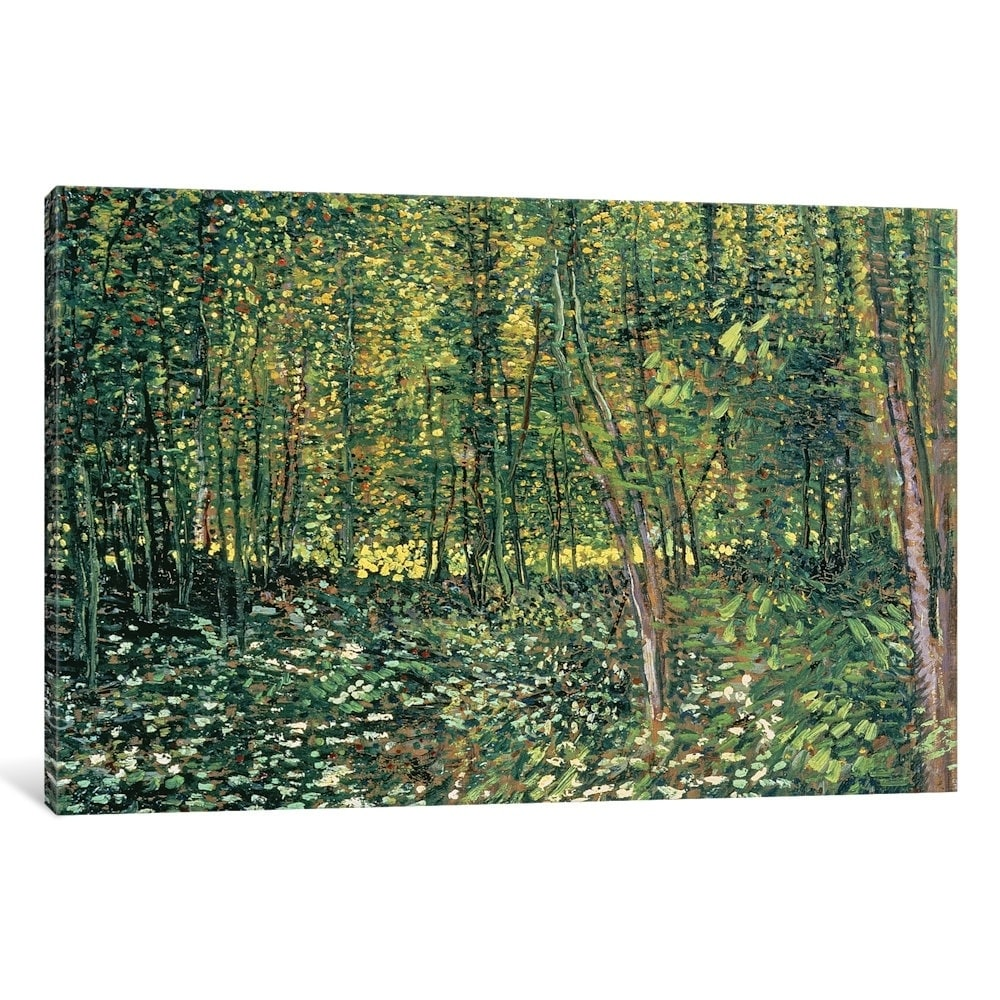 Vincent Van Gogh Undergrowth Giclee Canvas Print Paintings Poster Reproduction C