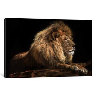 "iCanvas ""Golden Lion"" by David Stribbling"