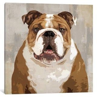 "iCanvas ""Bulldog"" by Keri Rodgers"