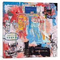 "iCanvas ""Basquiat Style II"" by PinkPankPunk"