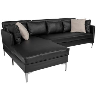 Remarkable Buy Faux Leather Sectional Sofas Online At Overstock Our Inzonedesignstudio Interior Chair Design Inzonedesignstudiocom