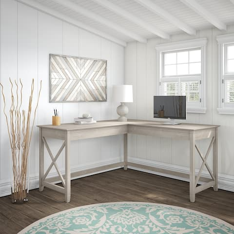 The Gray Barn Hickory Place L-shaped Desk