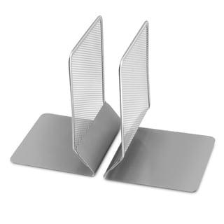 Ybm Home Mesh Metal Bookends  Desk Book Holder  Set of 2 1104vc