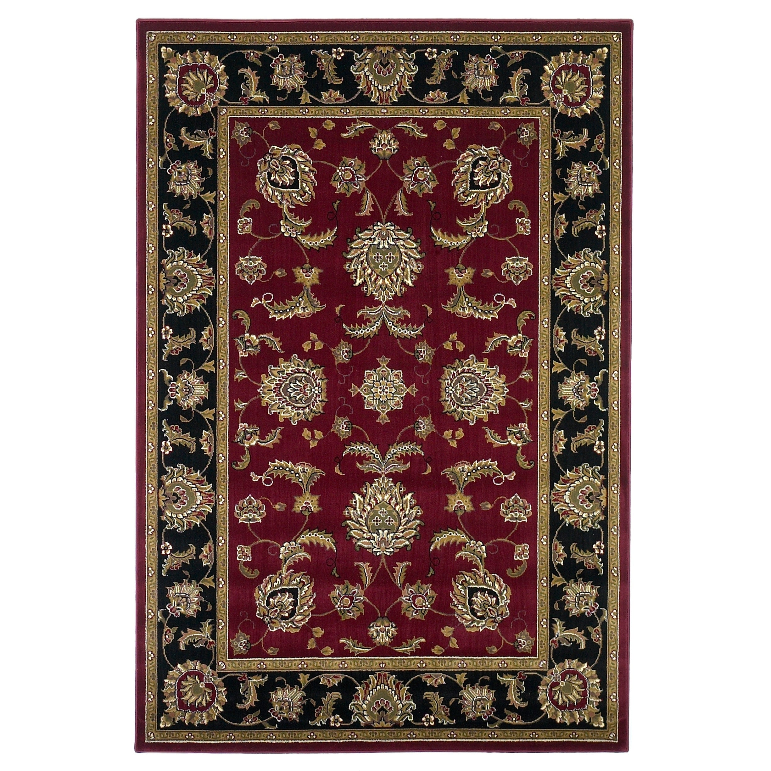 Copper Grove Veit Red Black Traditional Area Rug Overstock 26638096