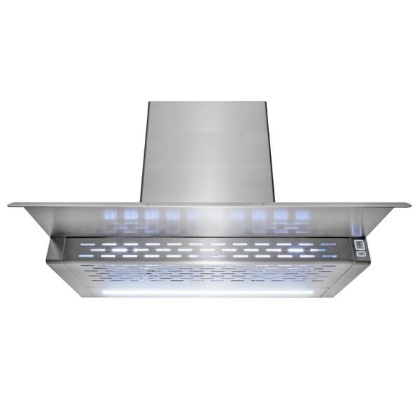 shop akdy 30 wall mount kitchen range hood 3 speed touch control rh overstock com