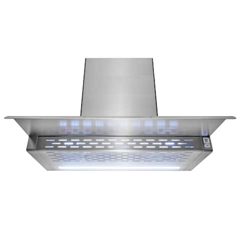 "AKDY 30"" Wall Mount Kitchen Range Hood 3 Speed Touch Control"