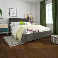 Avenue Greene Romeo Velvet Upholstered Bed