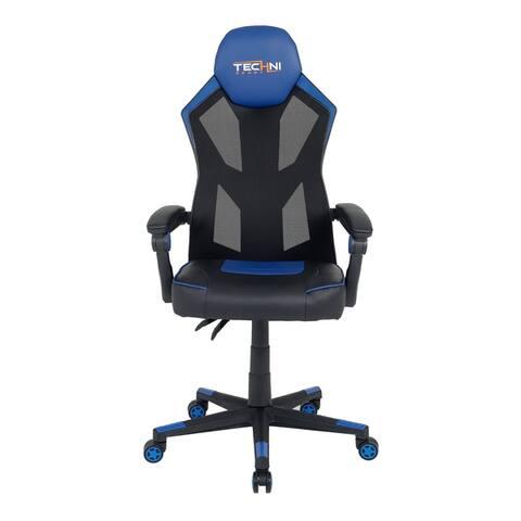 Modern Designs Ergonomic Mesh High Back Racer Style Video Gaming Chair
