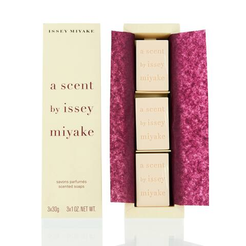 Issey Miyake A Scent Trio Scented Soap Set