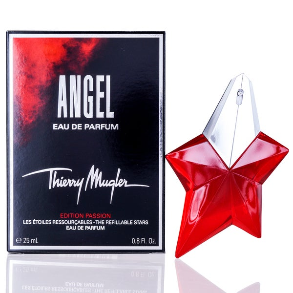 Thierry Mugler Angel Passion Star Women's 0.8-ounce Eau de Parfum Spray Refillable Limited Edition