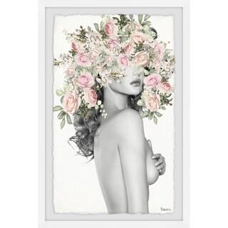 Handmade Naked Garden Framed Print