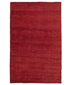 Elite Contemporary Handmade Wool Rug (5' x 8')
