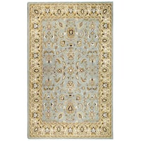 Elite Traditional Handmade Wool Area Rug (5' x 8') - 5' x 8'