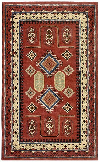 Handmade Elite Traditional Wool Rug (8' x 11')