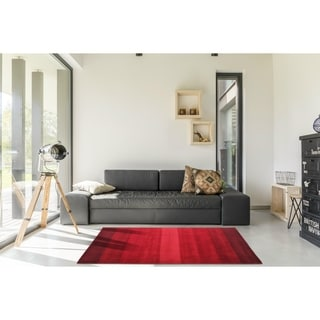 Elite Contemporary Handmade Wool Rug (8' x 10')
