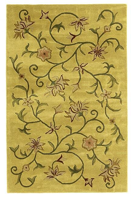 Elite Contemporary Handmade Wool Rug (8' x 11')