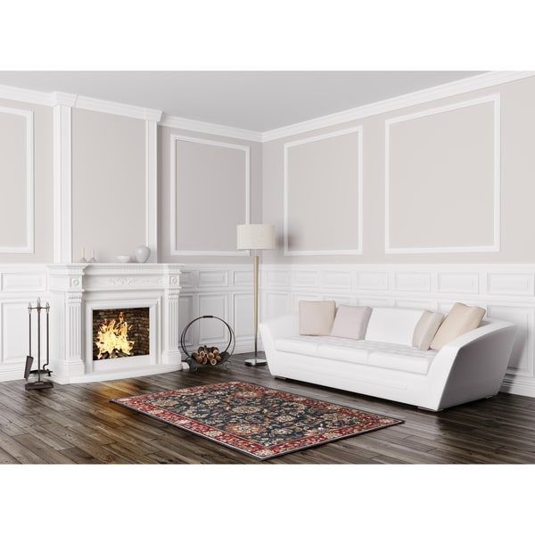Elite Traditional Hand-tufted Wool Rug (8' x 10') - 8' X 11'