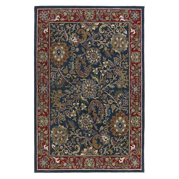 Elite Traditional Hand-tufted Wool Rug (8' x 10')