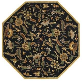 Handmade Elite Transitional Wool Rug (6' Octagon)