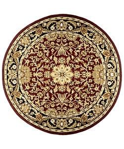 Handmade Elite Traditional Wool Rug (6' Round)