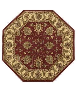 Handmade Elite Traditional Wool Rug (6u0027 Octagon)