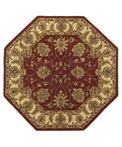 Handmade Elite Traditional Wool Rug (8' Octagon)