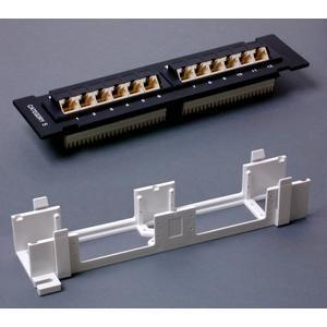 StarTech.com 1U 12 Port Wall Mount Cat5e 110 Patch Panel - 45 Degree