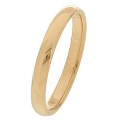 10k Yellow Gold Men's Comfort Fit 3-mm Wedding Band - Thumbnail 1