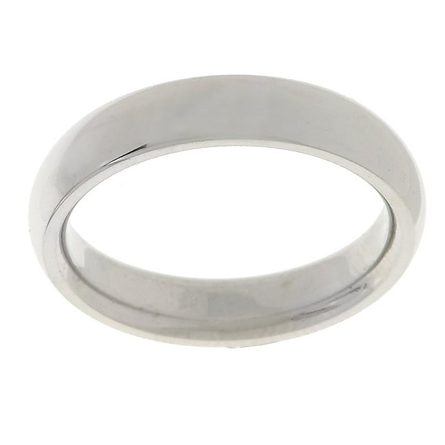 Platinum Comfort Fit Wedding Band