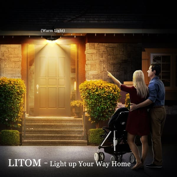 Shop Litom 30 LED Motion Sensor Solar Light, A New ... on