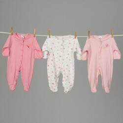 Sleep 'N' Play Rompers Infant Girls Sleepwear (Pack of 6)|https://ak1.ostkcdn.com/images/products/2666815/Sleep-N-Play-Rompers-Infant-Girls-Sleepwear-Pack-of-6-P10864596a.jpg?impolicy=medium