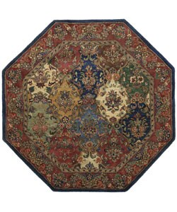 Hand-tufted Wool Area Rug (8' Octagon)