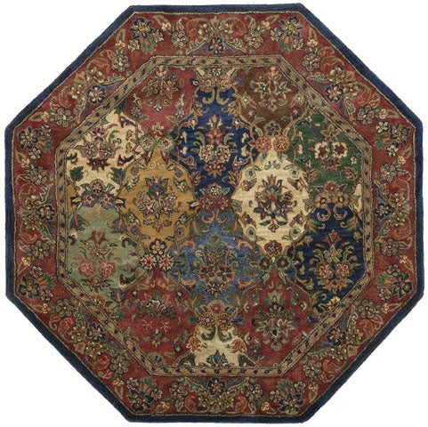Shop Hand Tufted Wool Area Rug 8 Octagon 8 On Sale