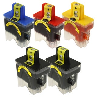 Brother LC41 Compatible Deluxe Combo Ink Set 5-pack