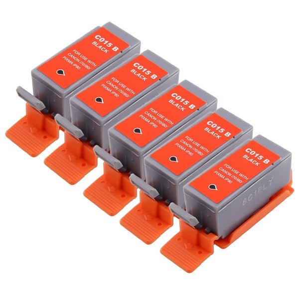 Insten Black Non-OEM Ink Cartridge Replacement for Canon BCI-15Bk/ 15 BK