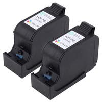 Insten Cyan/ Magenta/Yellow Color Remanufactured Ink Cartridge Replacement for HP C6578D/ 78