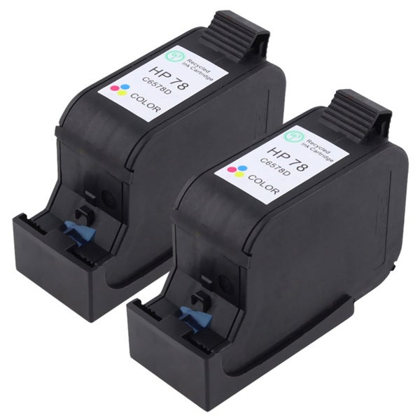Insten Tri-color Ink HP 78 for HP Deskjet 980C/ 990C/ 995C/ OfficeJet V40/ V4 (Set of 2)