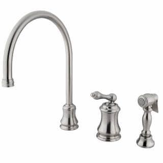 Satin Nickel Kitchen Faucet