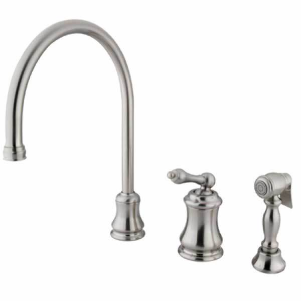 Satin Nickel Kitchen Faucet - Free Shipping Today - Overstock.com ...