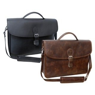 Amerileather Montana Leather Executive Briefcase (Option: Brown)