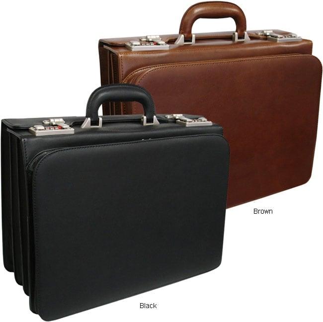 Amerileather Classic Executive Attache Briefcase (12.5' x 6' x 16')
