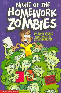 Night of the Homework Zombies (Paperback)