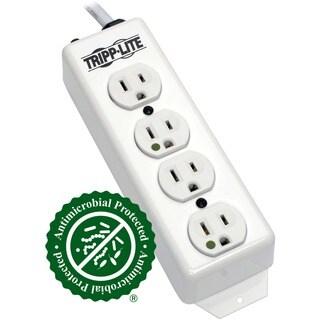 Tripp Lite Power Strip Hospital Medical 120V 5-15R-HG 4 Outlet 15' Co