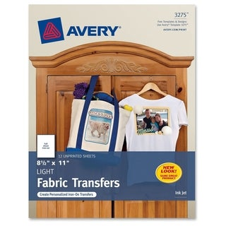 Avery&reg Iron-on Transfer Paper