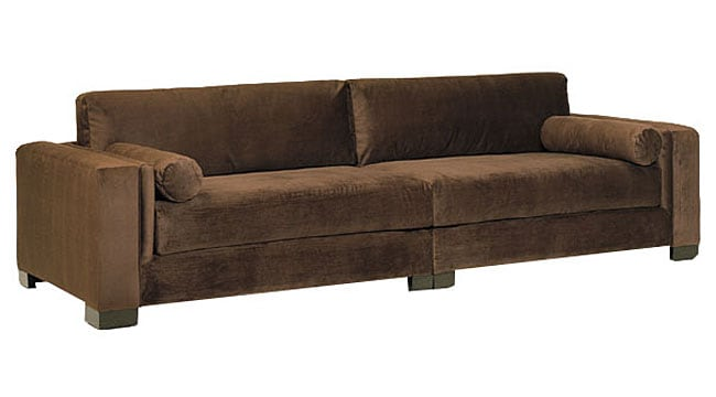 JAR Mitchell 2-piece Chocolate Sofa (Bogart 2-Piece Sofa ...