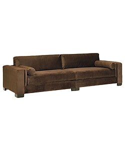 JAR Mitchell 2-piece Chocolate Sofa