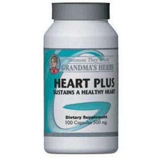 Grandma's Herbs Heart Plus 500mg Supplement (100 Capsules)