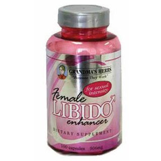 Grandma's Herbs Female Libido Enhancer 506mg Supplement (100 Capsules)