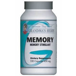 Grandma's Herbs Memory 450mg Supplement (100 Capsules)